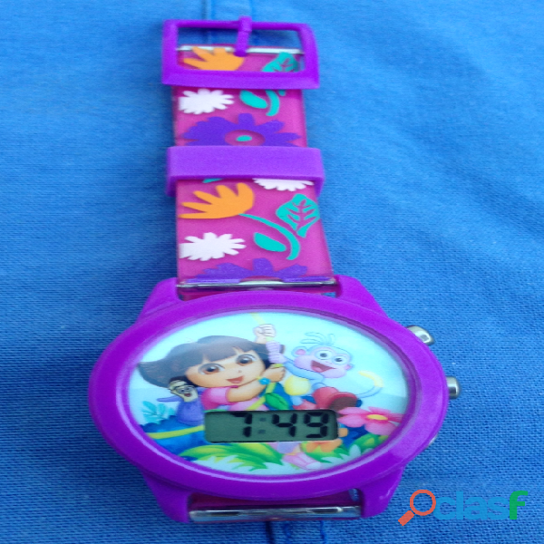 Reloj dora la exploradora c/sonido corto, original