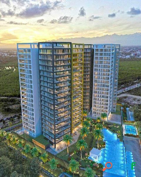 Departamento en venta, x towers en puerto cancun