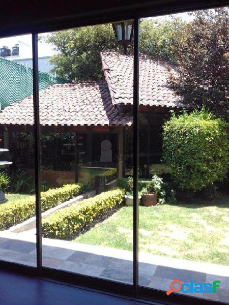 Casa sola en venta, en jardines en la montaña, tlalpan, ciudad de mexico