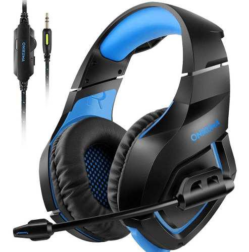 Audifonos headset gamer con microfono pc xbox one s ps4