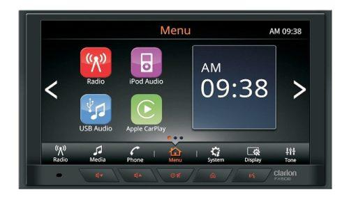 Auto estereo bluetooth clarion fx508 apple android car play