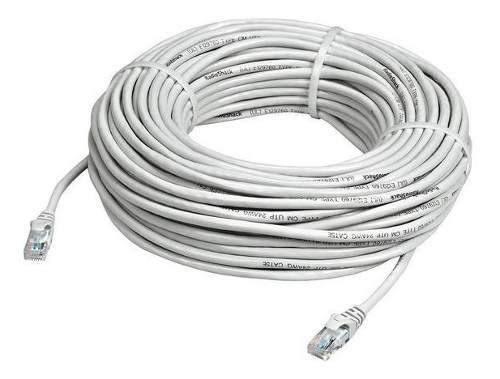 Cable de red utp 15 metros cat5 categoria 5e pc laptop xbox