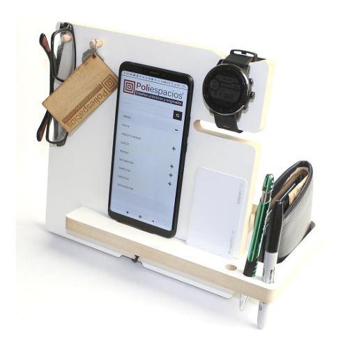 Dock base celular apple samsung smartwatch organizador dc01