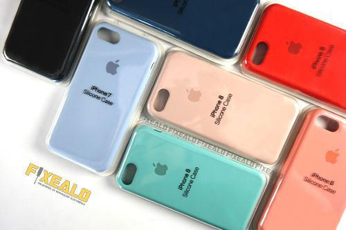 Funda protector silicon iphone 7 8 6 / plus 5 se case suave