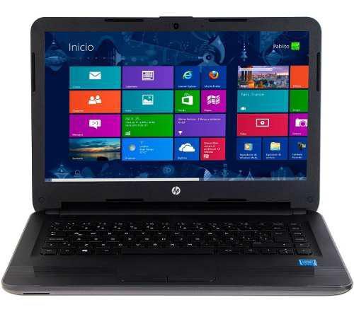 Hp laptop 240 g5 intel n3060 4gb 500gb 14 win10 w6b87lt#abm
