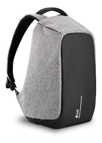 Mochila antirrobo viaje bolsas impermeable usb laptop stylos