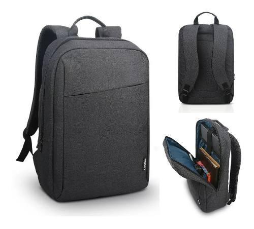 Mochila para laptop lenovo 15.6 casual gris acero b210
