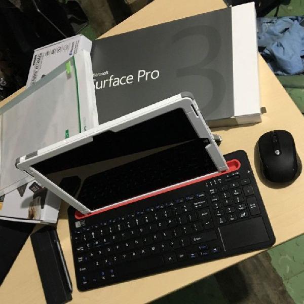 Súper combo Laptop Microsoft Surface Pro 3 con teclado