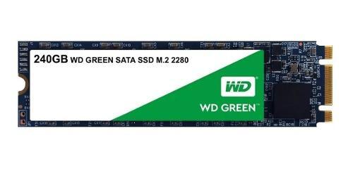 Ssd m.2 240gb disco duro solido western digital 2280 laptop