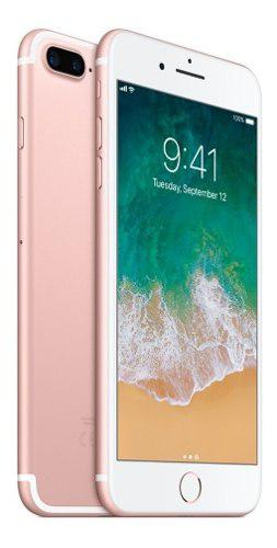 Iphone 7 plus 32 gb de exhibicion cargador original + regalo