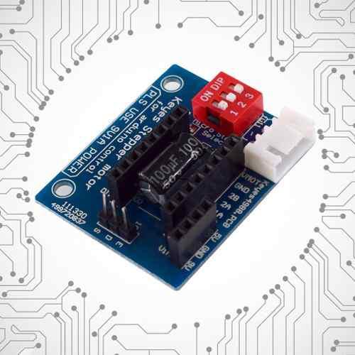 1pc Hw -434 A4988 Drv8825 Stepper Motor Conductor Panel De C