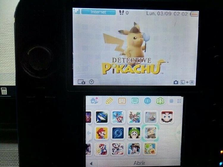 Nintendo 2ds color azul con juegos instalados 32 gb de