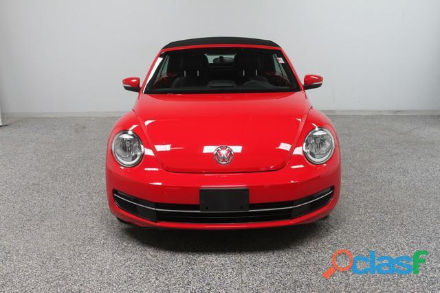 Volkswagen beetle 2014 convertible rojo