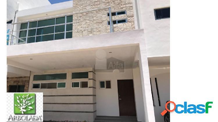 Casa en venta en residencial arbolada, cancun