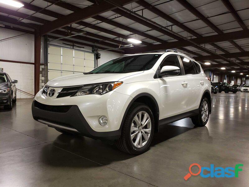 Toyota rav4 blanco 2014