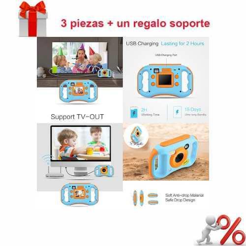 3 * amkov kids digital vídeo cámara wifi conexión max. 5