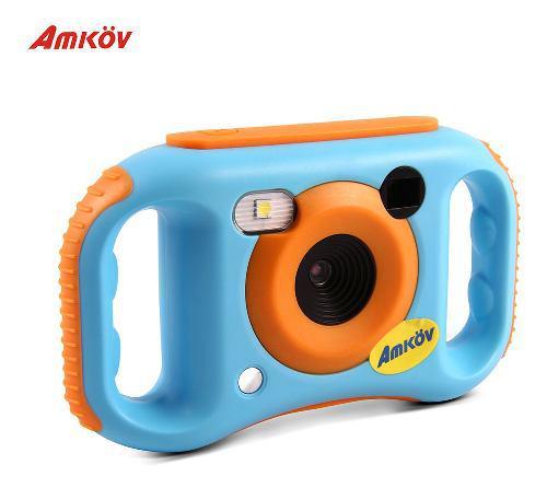 Amkov kids - cámara de vídeo digital (conexión wifi,