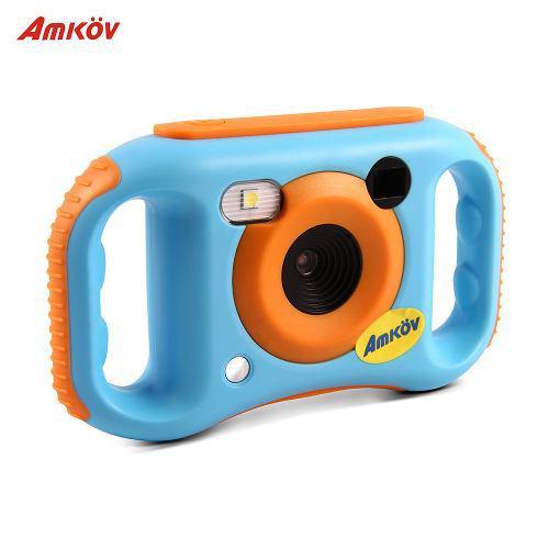 Amkov kids cámara de video digital conexión wifi máx. 5