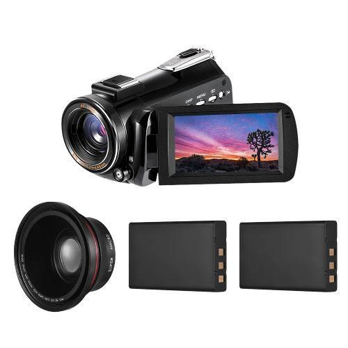 Andoer ac3 4k uhd 24mp digital vídeo cámara de la