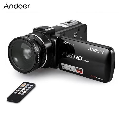 Andoer hdv-z82 1080p full hd 24mp cmara de vdeo