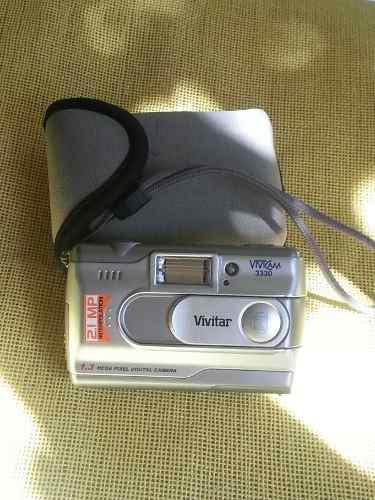 Antigua cámara digital vivicam 3330 coleccion detalle en
