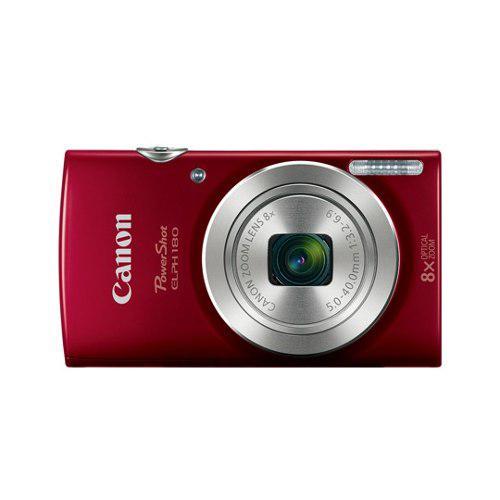 Camara digital canon e180 20 megapixeles color rojo