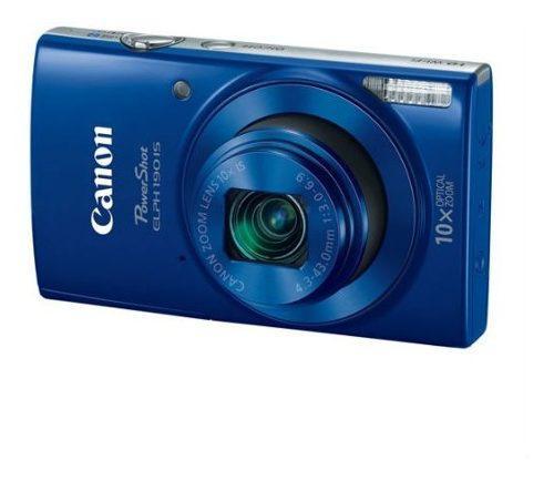 Camara digital canon e190 20 megapixeles color azul