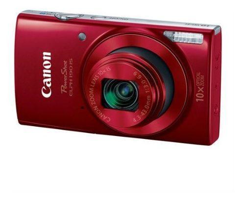 Camara digital canon e190 20 megapixeles color rojo