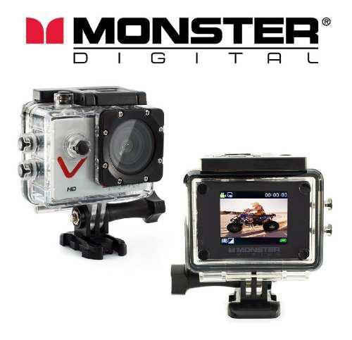 Camara monster vision hd 720p 30 fps + 12 accesorios