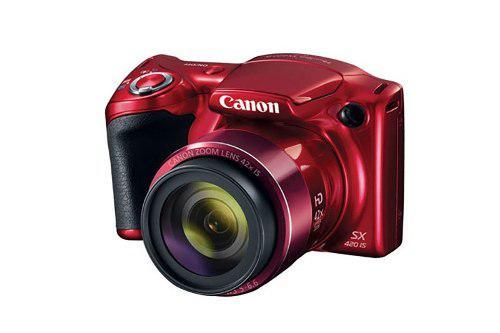 Cámara canon powershot sx420 is 20mp zoom óptico 42x
