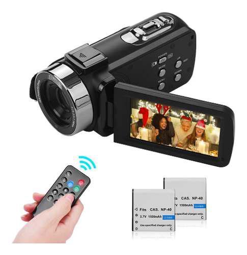 Cámara de vídeo digital portátil 4k fhd videocámara dv