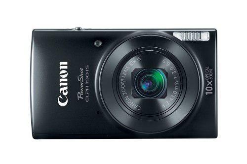 Cámara digital canon elph 190 - negro, 1280 x 720 pixeles,