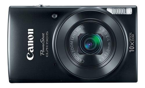 Cámara digital canon powershot 190is 20mp wifi roja/negra