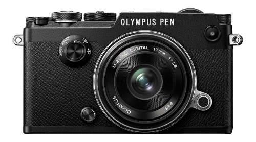 Cámara olympus pen-f montura micro 4/3 + m.zuiko 17mm f/1.8