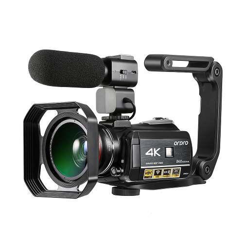 Ordro ac3 4k wifi cmara de video digital videocmara