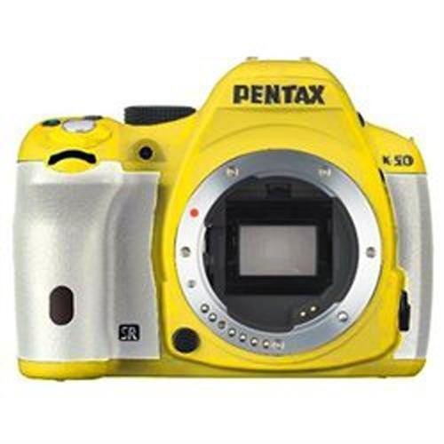 Pentax k- 50 camara digital slr de 16mp con pantalla lcd de