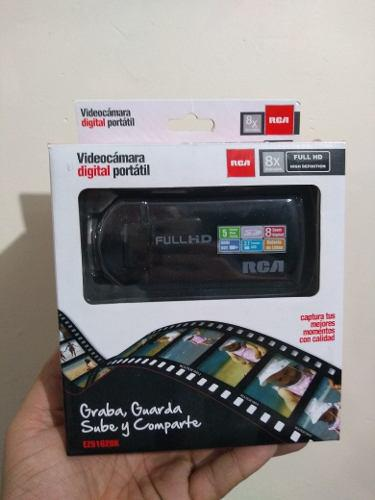 Videocamara digital portátil rca mod ez5162bk