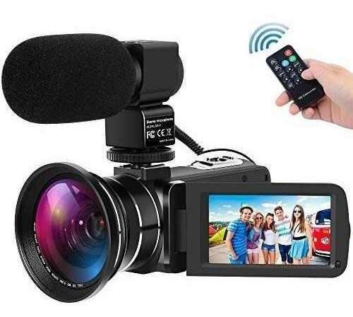 Videocámara digital full hd 1080p 30fps 24mp vision