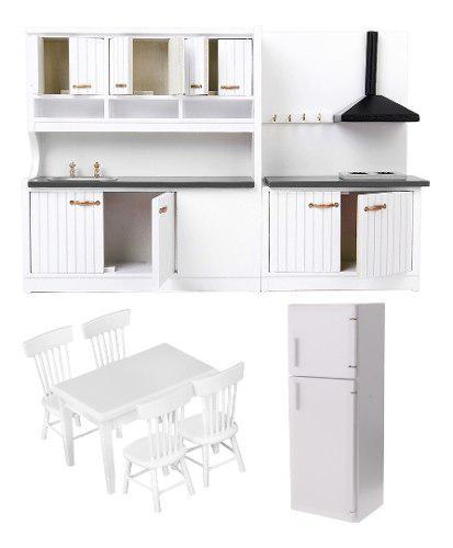 1 / 12th doll house miniatures refrigerador refrigeradores