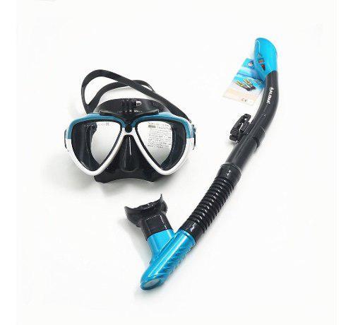 Adulto Máscara De Buceo Gafas De Snorkel Respiradero De La