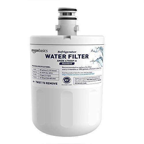Basics filtro de agua de repuesto para refrigerador lg lt500