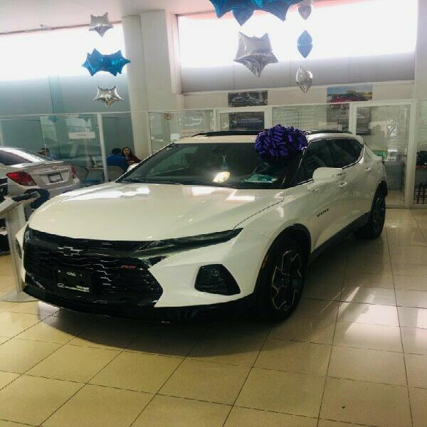 Chevrolet blazer rs 2019 demo