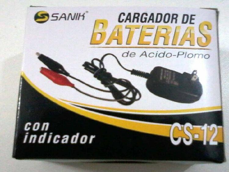 Cargadores baterias 6 o 12 volts para carritos montables