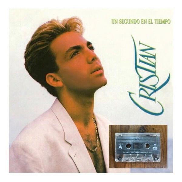 Casete Un Segundo en el Tiempo - Cristian Castro | Cassette