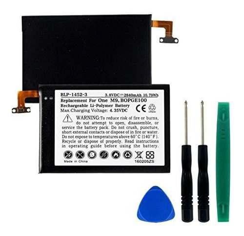 Htc one m9 teléfono celular batería lipol 38 v 2840 mah r