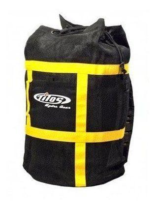 Nueva mochila de malla de lujo tilos para buceo y equipo de