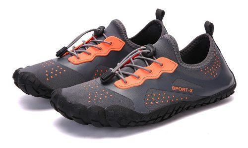 Súper ligero agua zapatos respirable playa zapatos buceo