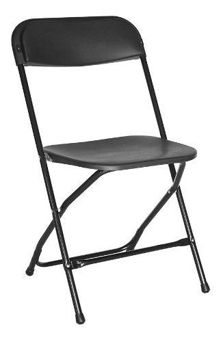 4 sillas plegables tipo samsonite de uso rudo