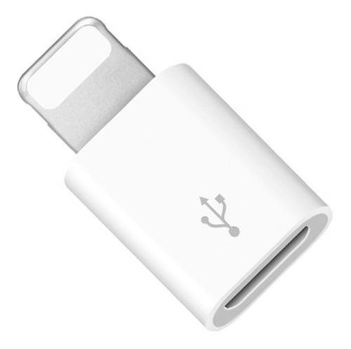 Adaptador convertidor micro usb a iphone ipod ipad + envío