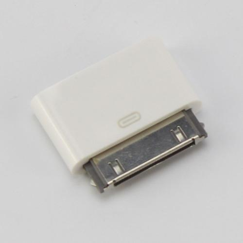 Adaptador d/datos c/cable conector usb p/iphone 4s ipod touc
